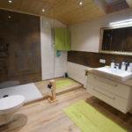 Bad, Badezimmer, Waschtisch, Dusche